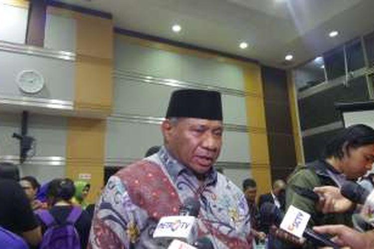 Ketua Komisi VIII DPR Ali Taher di Kompleks Parlemen, Senayan, Jakarta, Selasa (27/7/2016)