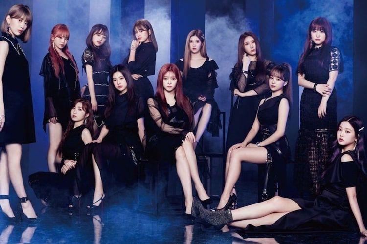 Girlband K-pop yang tengah naik daun, IZ*ONE.
