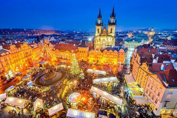 Old Town Square, Praha, Republik Ceko