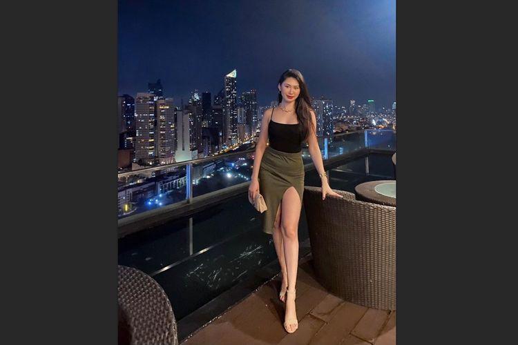 Pramugari Christine Angelica Dacera ditemukan tewas di bak mandi kamar Garden City Grand Hotel, Makati, Filipina, pada Tahun Baru 2021.(INSTAGRAM @xtinedacera)