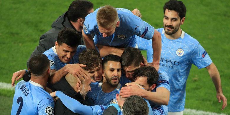 Manchester City memastikan langkah ke semifinal Liga Champions setelah kemenangan 2-1 di kandang Borussia Dortmund pada Kamis (15/4/2021) pagi WIB.