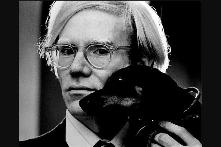 Seniman pop art, Andy Warhol.