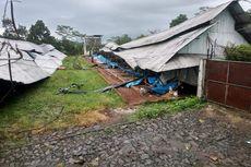 Puting Beliung di Sukabumi, 23 Kandang Ayam Ambruk dan 24 Rumah Rusak