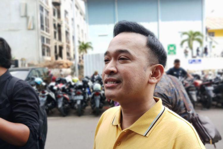 Pembawa acara Ruben Onsu saat ditemui di kawasan Tendean, Jakarta Selatan, Jumat (17/1/2020).
