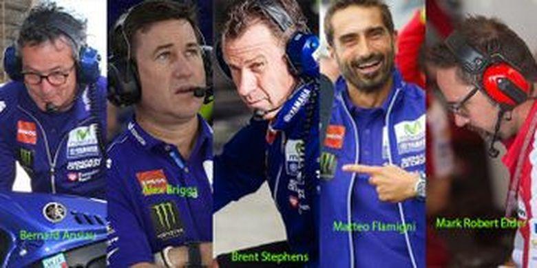 Tim mekanik kepercayaan Valentino Rossi di MotoGP