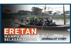 [VIDEO] Eretan, Transportasi Tradisional Jakarta yang Masih Bertahan