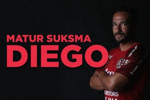 Bali United Resmi Akhiri Kerja Sama dengan Diego Assis