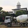 Kebutuhan Beton Siap Pakai Masjid Istiqlal Dipasok Semen Indonesia