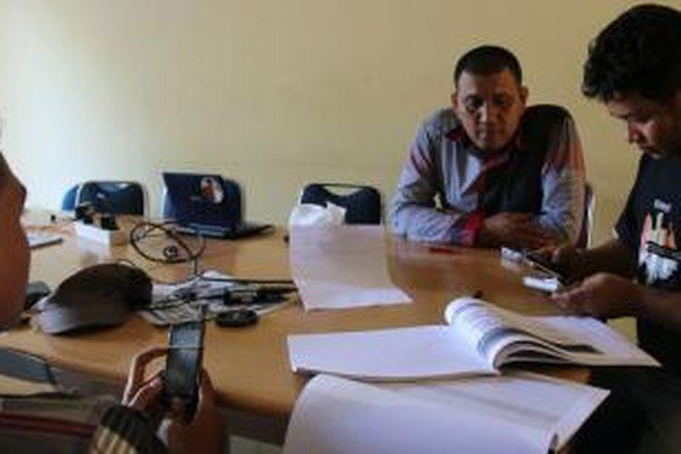 LSM Mata menemukan Indikasi penyelewengan beasiswa di LPSDM Aceh.