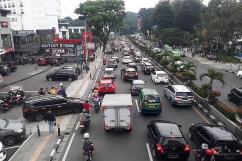 Imbas Ganjil Genap, Sejumlah Ruas Jalan di Kota Bogor Jadi Padat
