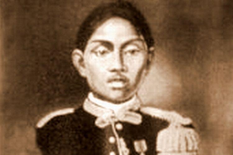 Lukisan wajah Sri Sultan Hamengkubuwono II.