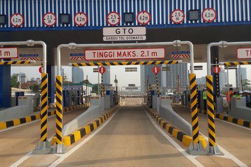 Rombongan Mobil Jenazah Rusak GTO di Tol Cengkareng