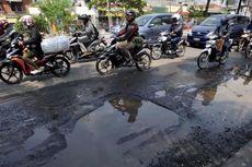 Jalan Rusak Terluas Ada di Jakarta Utara