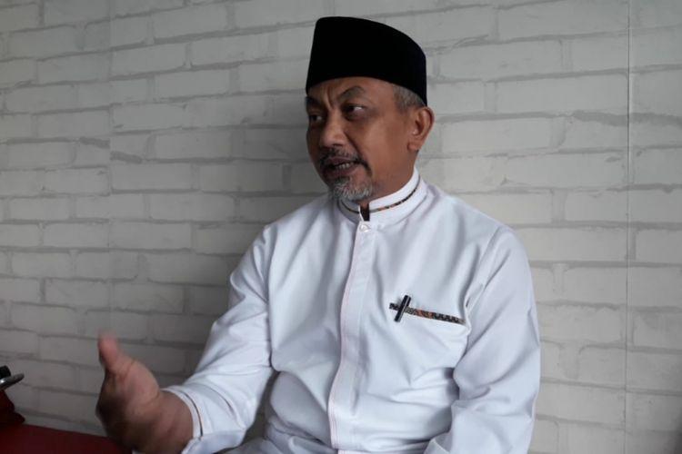 Mantan wakil Wali Kota Bekasi Ahmad Syaikhu di Kantor Asyikpreneur, Kalimalang, Kota Bekasi, Kamis (20/9/2018).