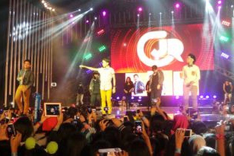 Konser terakhir Coboy Junior, Minggu (23/2/2014)