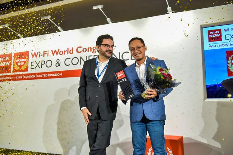 Komitmen Sediakan Wifi Berkualitas, Telkom Raih Penghargaan di London