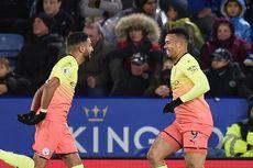 Hasil Leicester Vs Man City, Gol Gabriel Jesus Bawa The Citizens Menang