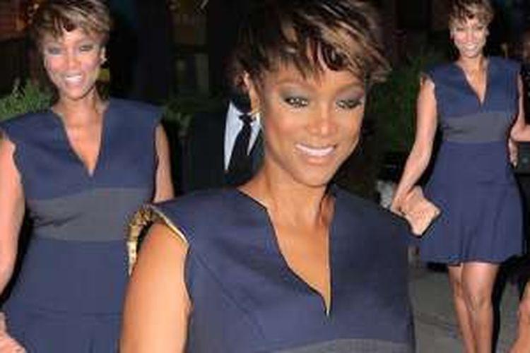Tyra Banks sedang berbahagia dengan kehadiran putra pertamanya.