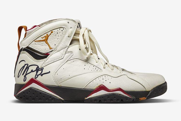The Sneakers Shop Sothebys Air Jordan 7
