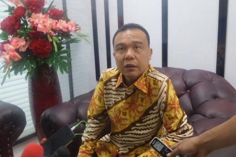 Anggota Komisi III DPR Sufmi Dasco Ahmad di Kompleks Parlemen, Senayan, Jakarta, Rabu (28/9/2016)