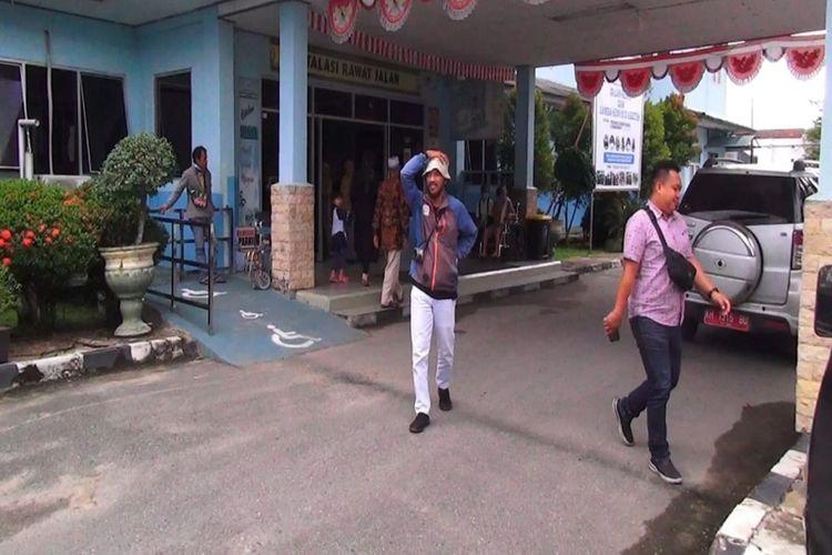 Suasana aktivitas di RSUD Umum Daerah Kapuas