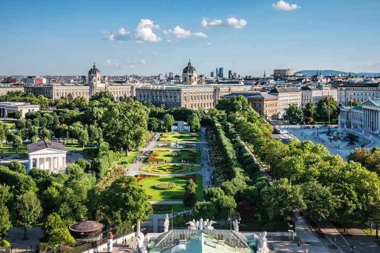 Volksgarten, Museum of Natural History and Kunsthistorisches Museum