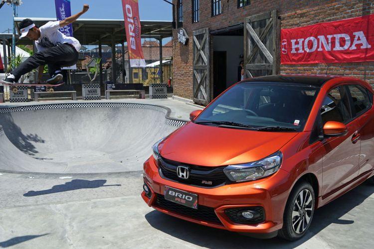Tes drive All New Honda Brio di Bali. Brio terbaru hadir dengan beberapa perubahan di eksterior dan interior