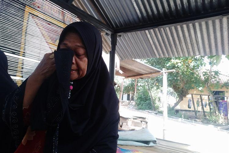 ibu Kalsum yang dilaporkan oleh anaknya ke Polisi(KOMPAS.COM/IDHAM KHALID)
