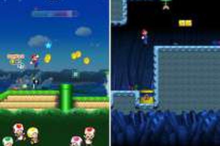 Screenshot game Super Mario Run