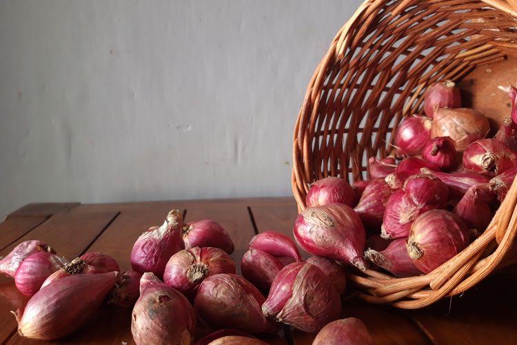 Ilustrasi bawang merah.