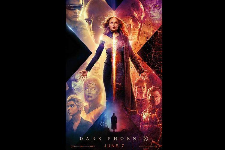 Poster film Dark Phoenix.