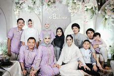 Keluarga The Hermansyah dan The Lemos Bersatu di Pengajian 4 Bulanan, Aurel: Seru Banget!