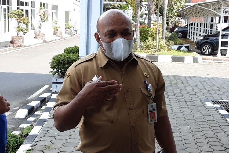 Kepala Dinas Kesehatan Kendal, Ferinando Rad Boney. KOMPAS.COM/SLAMET PRIYATIN