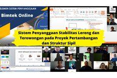Demi SDM Berkualitas PPSDM Geominerba Adakan Bimtek Konstruksi Sipil Secara Online