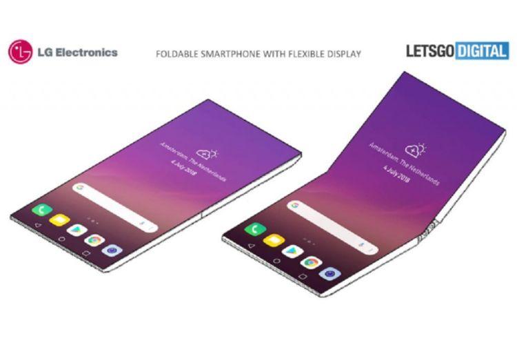 Paten smartphone lipat LG.