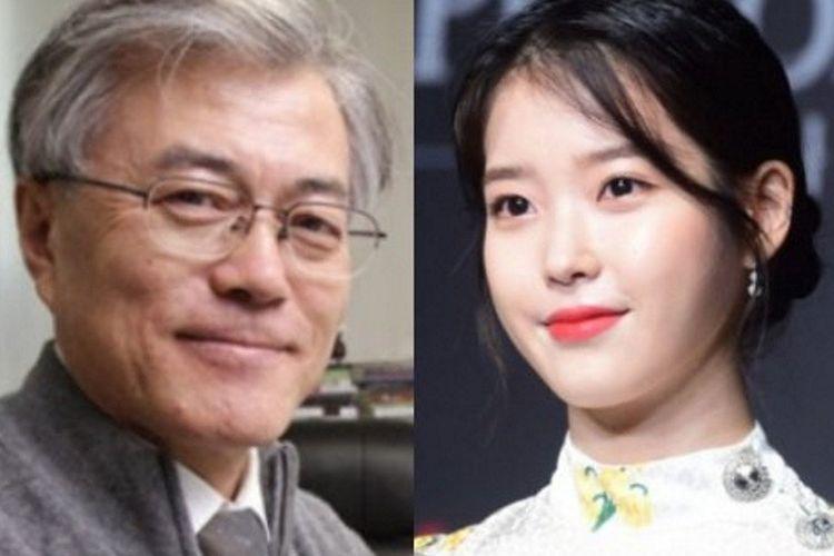 Presiden Korea Selatan, Moon Jae In puji kedermawanan IU