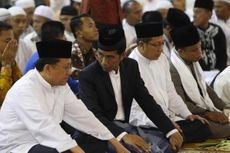 Presiden Jokowi Shalat Id di Masjid Baiturrahman