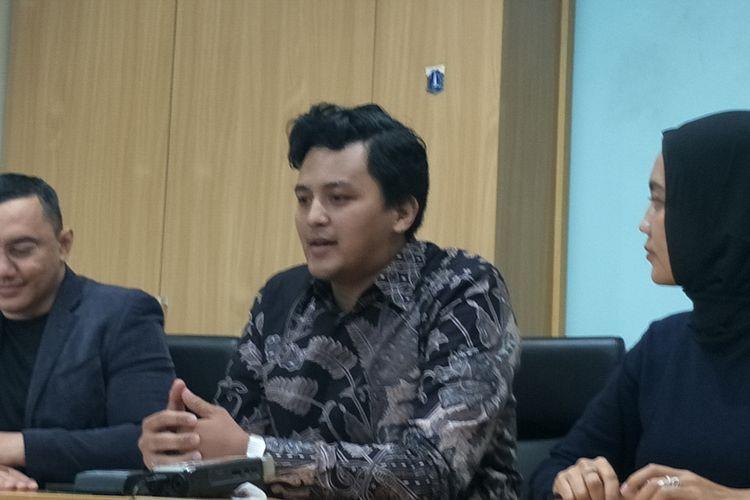 Anggota Fraksi PSI DPRD DKI Jakarta Anggara Wicitra Sastroamidjojo di Gedung DPRD DKI Jakarta, Kamis (7/11/2019).