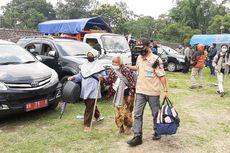 Pengungsi Erupsi Gunung Merapi di Sleman Kembali ke Rumah, Sempat Gelar Tumpengan