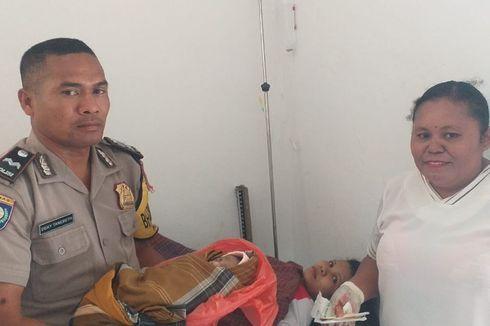 Cerita Polisi Kupang Selamatkan Nyawa Warga Tak Mampu yang Melahirkan