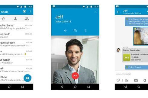 Patuhi Google, BBM Android Tampil Lebih Segar