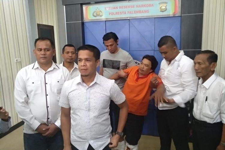 Muryadi alias Nanang satu dari 30 tahanan Polresta Palembang yang kabur ditembak petugas, Senin (8/7/2019).
