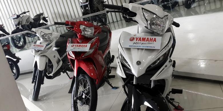 Deretan model bebek Yamaha lainnya, yakni Vega ZR.