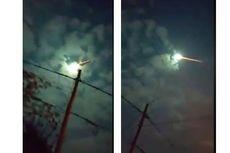 Hoaks, Video Hujan Meteor Turun di Langit Probolinggo