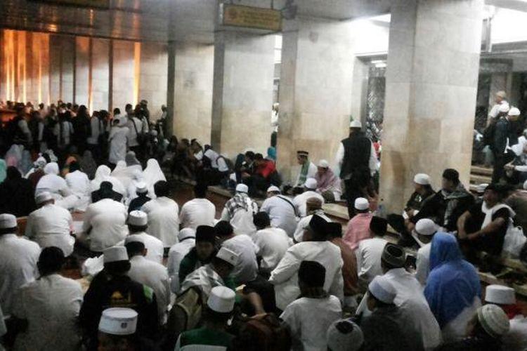 Suasana di Masjid Istiqlal pada Sabtu (11/2/2017) pagi.