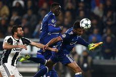 Olympique Lyon Vs Juventus, Giorgio Chiellini Masuk Skuad Bianconeri