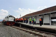 Setelah 36 Tahun, Akhirnya Lokomotif Pertama Tiba di Stasiun Garut...