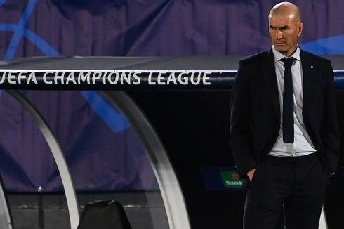 Real Madrid Melempem di Liga Champions, Begini Tanggapan Zidane