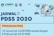 Pengisian PDSS untuk SNMPTN 2020 Telah Dibuka, Bagaimana Tahapannya?