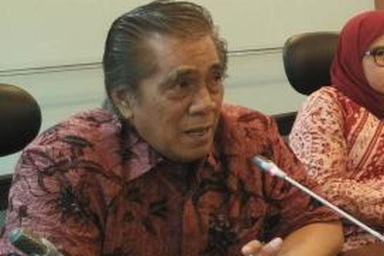Anggota Fraksi PDI-P Nazaruddin Kiemas.